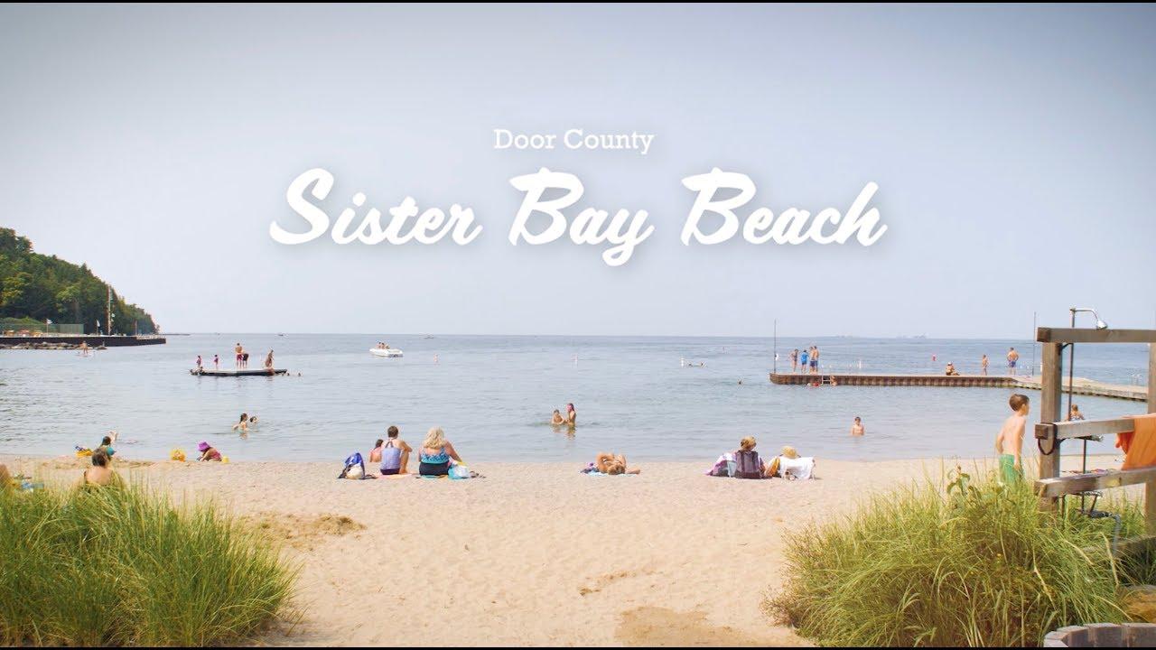 Sister Bay Beach located in Door County