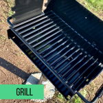 Grill found at every camp site