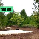Large tent sites
