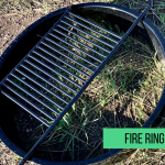 Fire ring found at every camp site